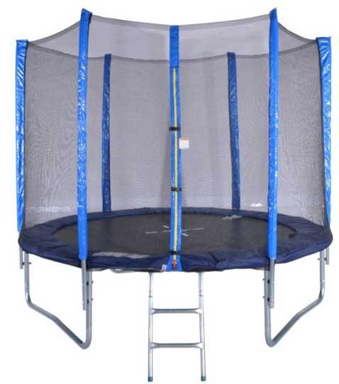 Trampolin komplett 180cm mit Netz und Leiter