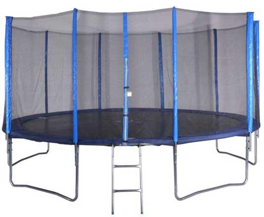 Trampolin komplett 366cm mit Netz und Leiter